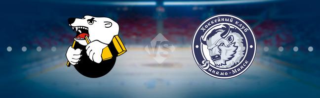 Трактор — Динамо Минск 26 декабря, хоккейный матч