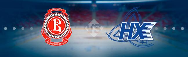 Витязь — Нефтехимик 6 декабря, хоккейный матч